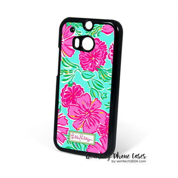 Summer She She Shells-Lilly Pulitzer HTC One M8 Case Cover for M9 M8 One X Case