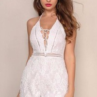Braylee Lace Playsuit