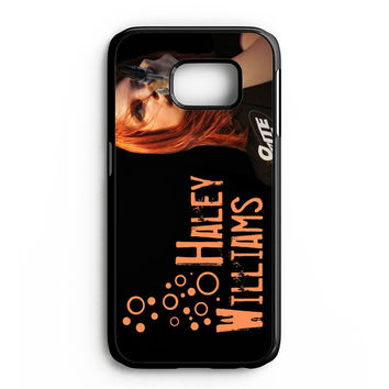 Hayley Williams Paramore Celebrity Samsung Galaxy S6 Edge Case