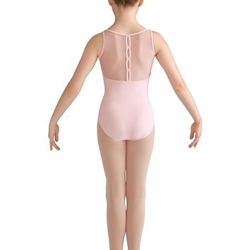 Mesh Back Tank Leotard CL8195 by Bloch