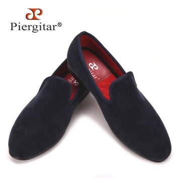 New fashion men striped cotton fabric shoes men party and banquet smoking slippers men's casual shoe