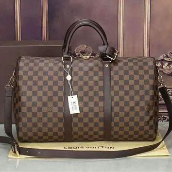 LV Luggage Bag Travel Bag Fashion Big Bag Print Tote Handbag B-LLBPFSH