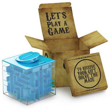 LeadingStar Money Maze Unique Way to Give Gifts for Special People With Perfect Gift Puzzle Box Toys For Children