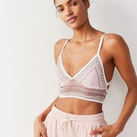 Out From Under Hailey Lace Longline Bra | Urban Outfitters