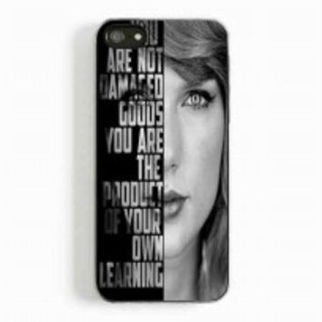 taylor swift lyrics for iphone 5 and 5c case