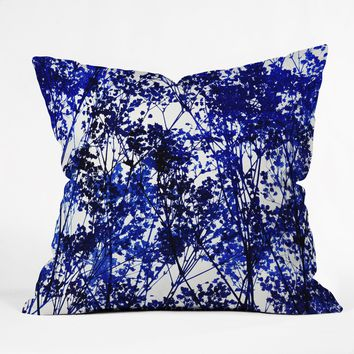 Garima Dhawan Autumn Indigo Throw Pillow