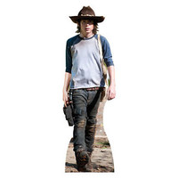 Walking Dead CARL GRIMES Riggs Lifesize CARDBOARD CUTOUT Poster Standee Standup