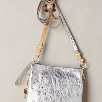 Metallic Nixie Crossbody Bag by Cynthia Rowley Silver One Size Bags