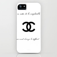 Coco Chanel iPhone Case by Madyson Shaye | Society6