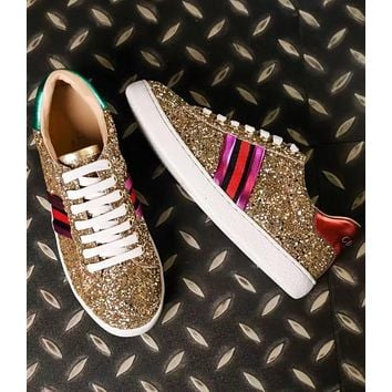 ADIDAS counter latest men and women trend fashion wild board shoes F-ALS-XZ Gold
