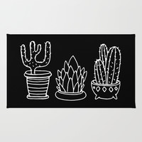 Plants in Pots Rug by Alliedrawsthings | Society6
