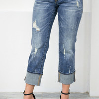 Dear John Comfort Straight Denim