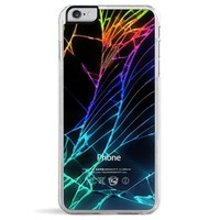 Cracked Out (Black) iPhone 6/6S Plus Case