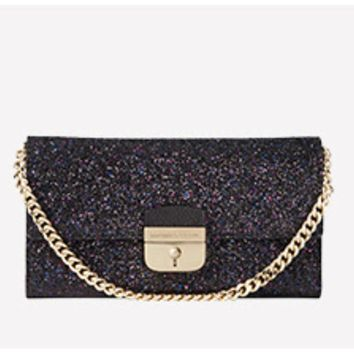 Kate Spade New York Glitter Milou Clutch