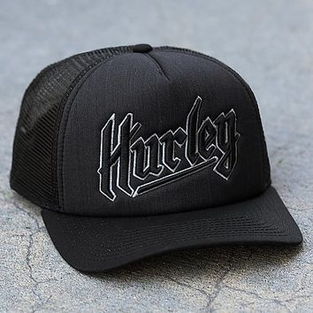 Hurley Thrown Trucker Hat