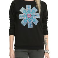 Red Hot Chili Peppers Psychedelic Girls Pullover Top