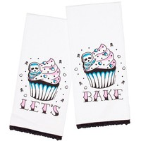 Let's Bake Tea Towel Set by Sourpuss Clothing