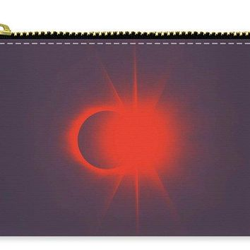 Solar Eclipse, Diamond Ring 2b - Carry-All Pouch