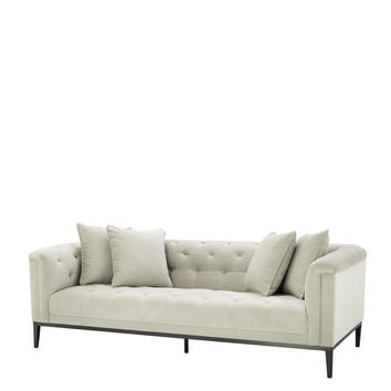 Pebble Grey Sofa | Eichholtz Cesare