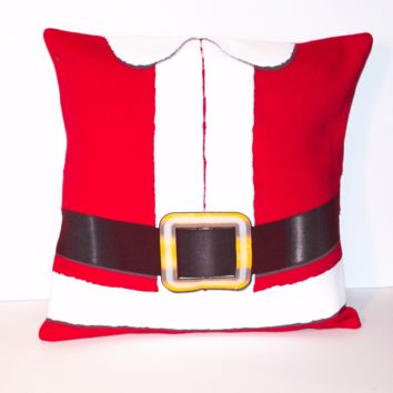 Santa Suit Pillow