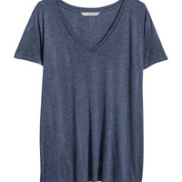 H&M+ V-neck T-shirt - from H&M