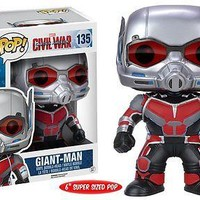 "Funko Pop Marvel: Captain America Civil War - Giant Man 6"" Vinyl Figure"