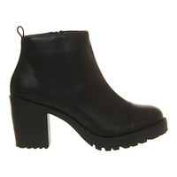 Office Mexi Black - Ankle Boots