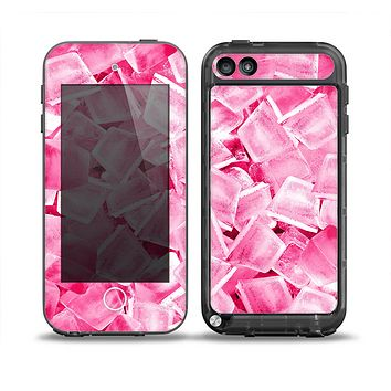 The Hot Pink Ice Cubes Skin for the iPod Touch 5th Generation frē LifeProof Case