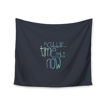 "Monika Strigel ""Cuddle Time Mint"" Wall Tapestry"