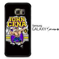 John Cena Cenation Cartoon V0479 Samsung Galaxy S6 Edge Plus Case