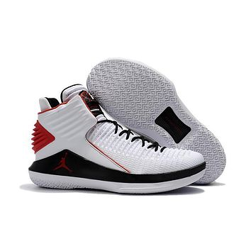 Nike Air Jordan 32 Xxxii Retro Aj32 White/black/red Sneaker Shoes Us7 12 | Best Deal Online
