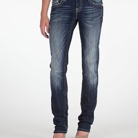 Miss Me Wing Straight Stretch Jean