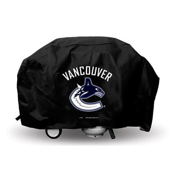 Vancouver Canucks NHL Economy Barbeque Grill Cover