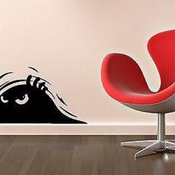 Wall Sticker Vinyl Decal Witty Design For Living Room Shadow Unique Gift (ig1192)