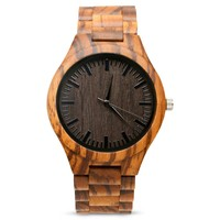 Wooden Watch | The Gavin After Dark