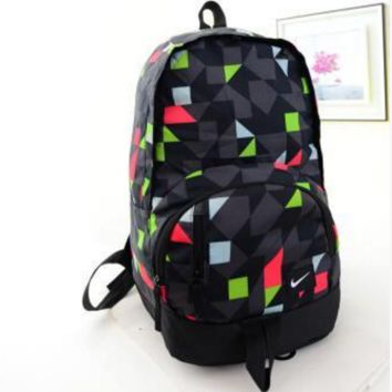 """NIKE""Backpack bag female lovers rucksack male students street movements laptop bag bag"