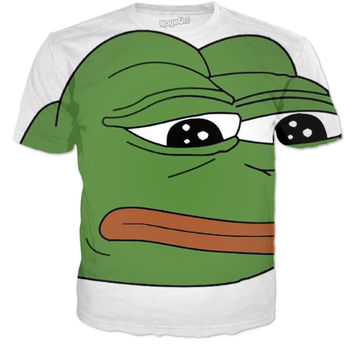 Pepe is on a shirt
