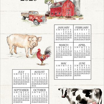 Calendar Towel 2020 - Country Life