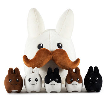 "24"" Stache Labbit with Littons Plush"