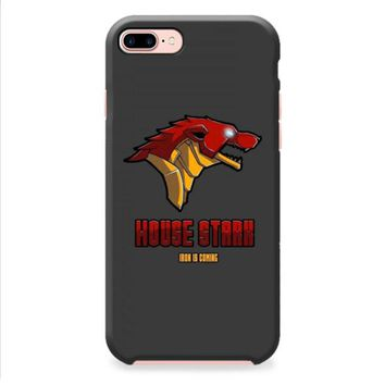 Game Of Thrones House Stark Iron Man iPhone 8 | iPhone 8 Plus Case
