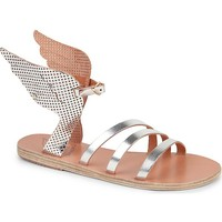 ANCIENT GREEK SANDALS - Ikaria perforated wing sandals | Selfridges.com