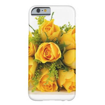 Yellow Rose Bouquet Barely There iPhone 6 Case