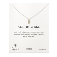 Dogeared All Is Well Hamsa Necklace