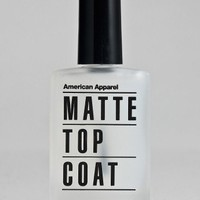 American Apparel - Matte Top Coat Nail Polish