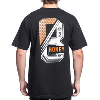 8 STACK TEE – HONEY BRAND