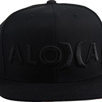 Hurley - Mens Aloha Snapback Hat, Size: O/S, Color: Black