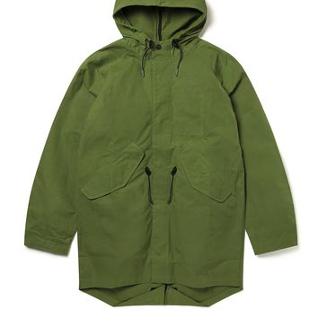 Fishtail Parka in Leaf Green | albam Clothing