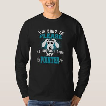 Funny Pointer Dog Owners T-Shirt