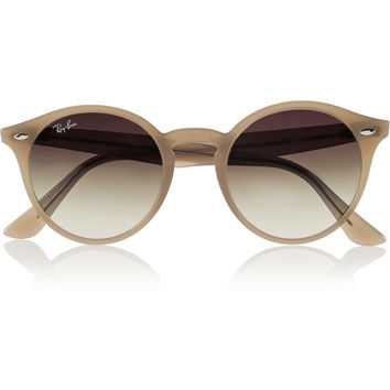 Ray-Ban - Round-frame acetate sunglasses