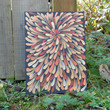 Australian Aboriginal Inspired Painting Orange by Acires on Etsy